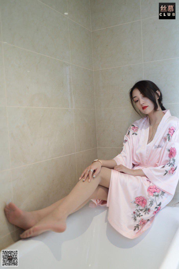 [丝慕GIRL] SM074 天天一元 诗晴《诗晴-睡袍-浴缸》[67P/87.3M]